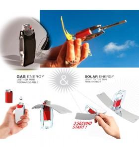 Solar Doppel-Brenner - Sonne und Gas-Natural - Eco-Friendly - portable