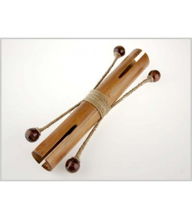 Tic Tac Bambú Doble - Asa Palmito - Artesanal
