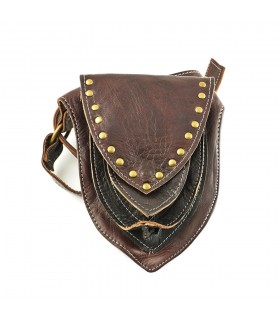 Artisan Triangle Waist - 100% Leather - 3 pockets