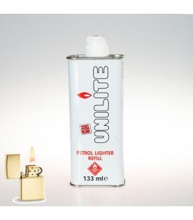 Gas Líquido Petróleo - Recarga Mecheros tipo ZIP -133 ml-Unilite