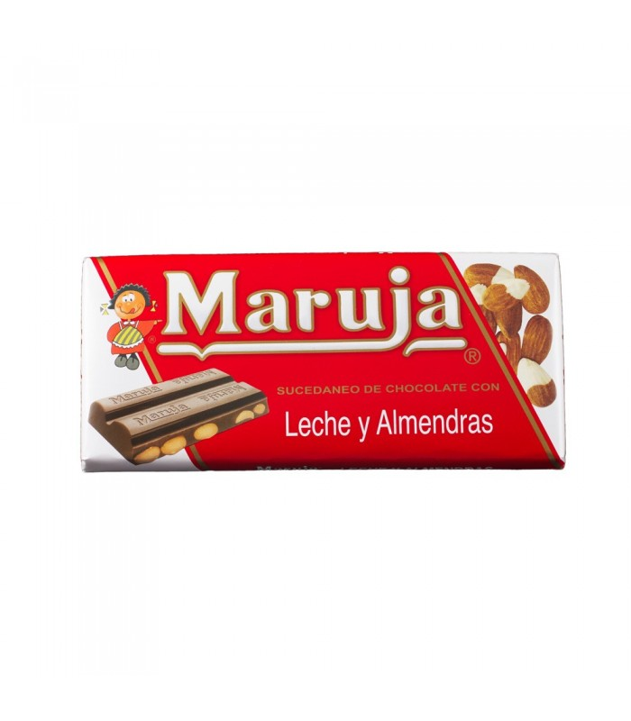 Maruja - Substitute Chocolate - Milk and Almonds - 150 gr