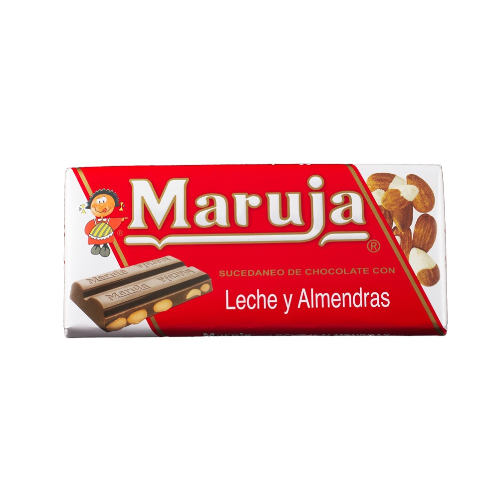 Maruja - substitute Chocolate - almonds and milk - 150 gr - Jaima ...