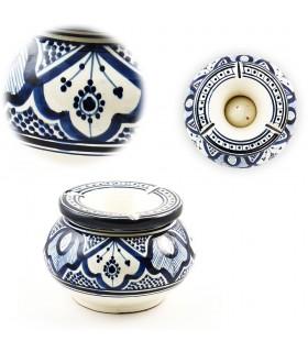 Acqua posacenere Gitante - ceramica smaltata - vari colori - 15cm