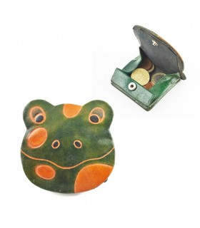 Bolsa de couro Animais - Cores decorados e Relevos-9 x 8 cm