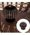 Lamp globe permeated Arab - night table - design Andalusí