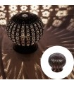 Lámpara Globo Calado Árabe - Mesita Noche - Diseño Andalusí