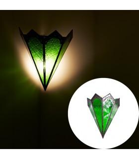 Aplique Triángulo Castilo- Cristal Colores