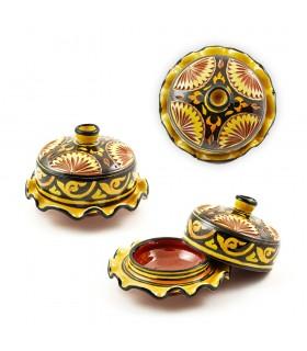 Ceramic Ashtray - Tajin Wavy - Various Colors - 14 cm