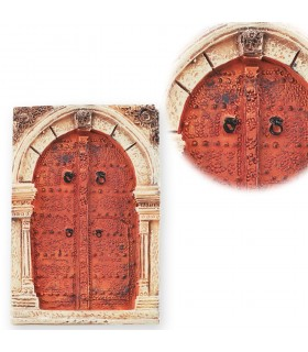 Juego 3 Imán Miniatura Puertas Arabes- 5 cm - Ideal Nevera