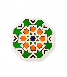 Imán Azulejo Arabe Hexagonal - Ideal Nevera - 6 cm