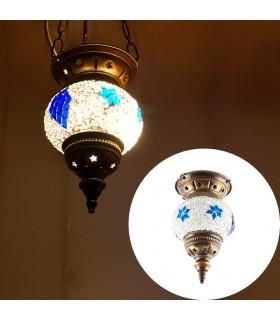 Lampada Mini turca (Maftuha) - vetro Murano - mosaico