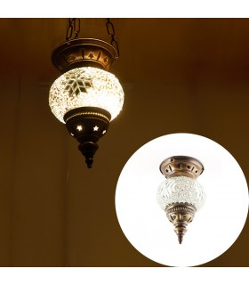 Lampe Mini türkischen (Maftuha) - Glas Murano - Mosaik