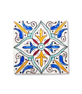 Azulejo Andalusí - 14,5 cm - Varios Diseños- Artesanal- Modelo 2