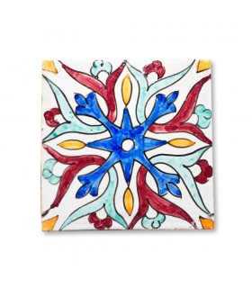 Andalusian Tile Mini - 14,5 cm - Various Designs - Model 3