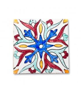 Azulejo Andalusí - 14,5 cm - Varios Diseños- Artesanal- Modelo 3