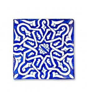 Al-Andalus - 14,5 cm - several designs - handcrafted tile - 5 model