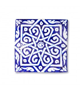 Al-Andalus - 14,5 cm - several designs - handcrafted tile - model 7