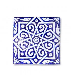 Andaluz Mini Tile - 14,5 cm - Vários projetos - Modelo 7