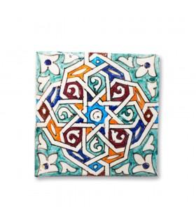 Azulejo Andalusí - 14,5 cm - Varios Diseños- Artesanal- Modelo 8