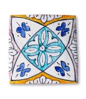 Al-Andalus - 10 cm - several designs - handcrafted tile - model 9