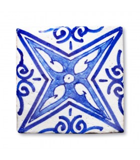 Al-Andalus - 10 cm - several designs - handcrafted tile - model 10