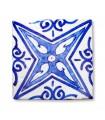 Azulejo Andalusí - 10 cm - Handmade - Model 10