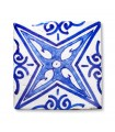 Azulejo Andalusí - 10 cm - Artesanal- Modelo 10