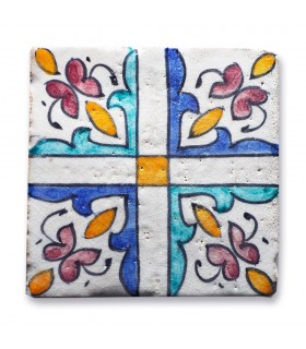 Al-Andalus - 10 cm - several designs - handcrafted tile - model 11