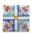 Al-Andalus - 10 cm - several designs - handcrafted tile - model 11