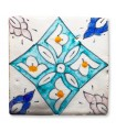 Al-Andalus - 10 cm - several designs - handcrafted tile - model 12