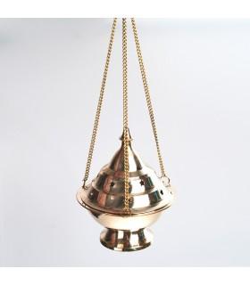 Grande Botafumeiro - incensiere di bronzo - catena 30cm