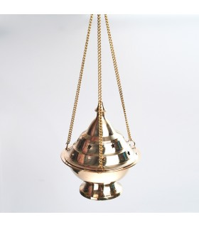 Large Botafumeiro - bronze censer - chain 30 cm