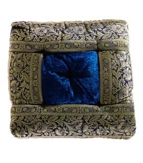 Tappetino yoga - indiano decorato - include il riempimento - 27 cm