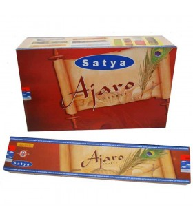 Incense Ajaro Agarbatti - 15 gr - SATYA - new fragrance