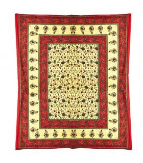 Índia-Cotton - Floral-Artisan-240 x 210 cm