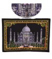 Tecido Algodão Taj Mahal India-Mesquita-Crafts-55 x 40 cm.