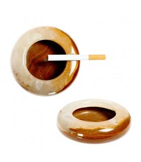 Onyx Cinzeiro - Artisan - 10 cm - Várias Cores-Paperweight