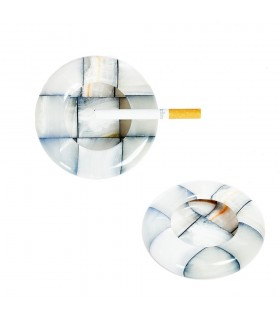 Fermacarte di 10 cm - vari colori - Onyx - artigiano - posacenere