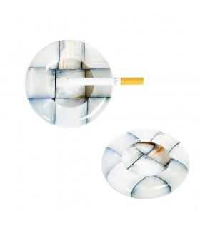 Onyx Cendrier - Artisan - 10 cm - couleurs variées Pressepapier