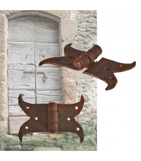 Horns Dobradiça Forge - Artisan - 9,5 centímetros