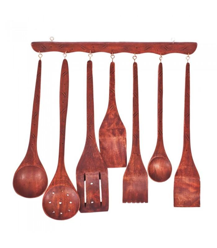 Kitchen Utensils Set - Decorative - Hanger Exhibition