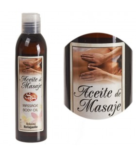 Relaxing Massage Oil - Lavender Basil Orange - 200 ml