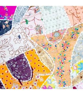 Décoration murale ronde - Espejitos - Coton - 1 m