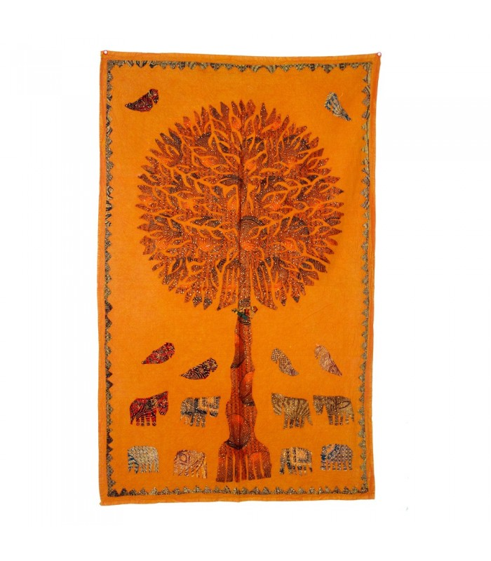 Fabric Tree Life - Rustic Design - Various Colors - 150 x 90 cm