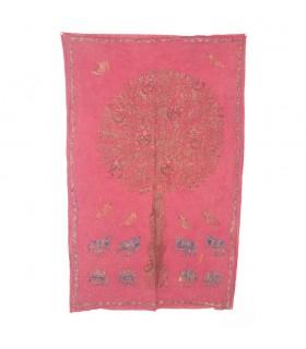 Tissu Arbre de vie - Conception rustique - Différentes couleurs