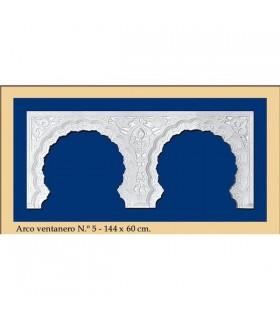 Nr. 5-Bogen - Design Andalusi - 144 x 60cm