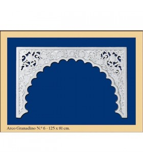 Arco № 6 - дизайн Andalusi - 125 x 81 см