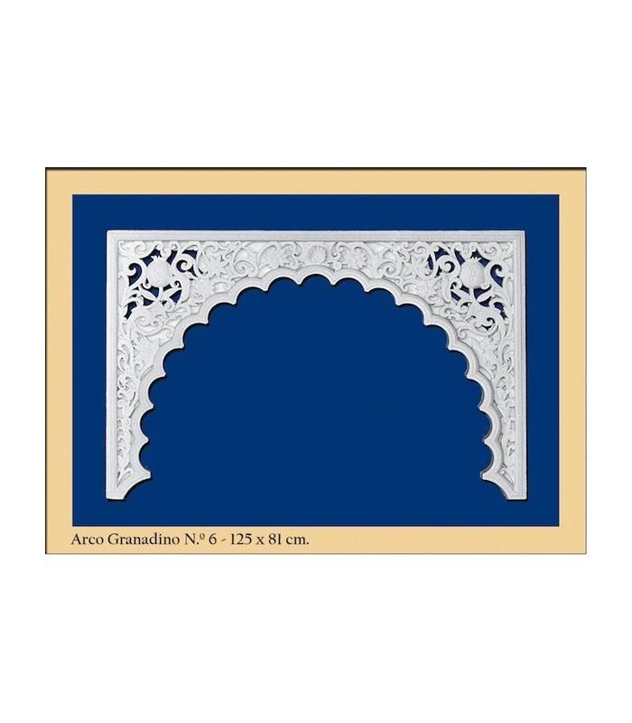 Arco Nº 6- Diseño Andalusí - 125 x 81cm