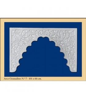 Arco Nº 7- Diseño Andalusí - 101 x 66cm