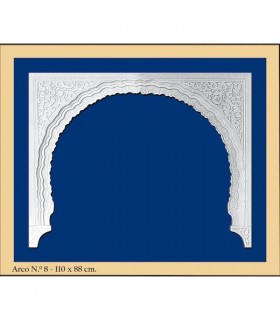 Arco Nº 8 - conception Andalusi - 110 x 88cm